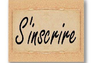 Inscription Nouvel Adhérent…